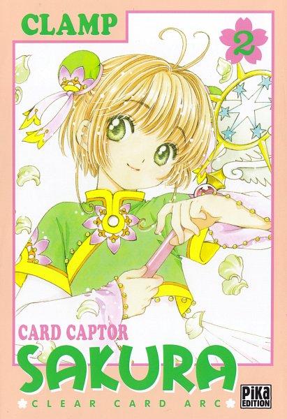 Tags: Anime, CLAMP, Cardcaptor Sakura: Clear Card-hen, Cardcaptor Sakura, Kinomoto Sakura, Manga Cover, Scan, Official Art