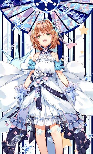 Tags: Anime, Pixiv Id 3402454, Cardcaptor Sakura, Cardcaptor Sakura: Clear Card-hen, Kinomoto Sakura, Clear Cards, Fanart, Fanart From Pixiv, Pixiv