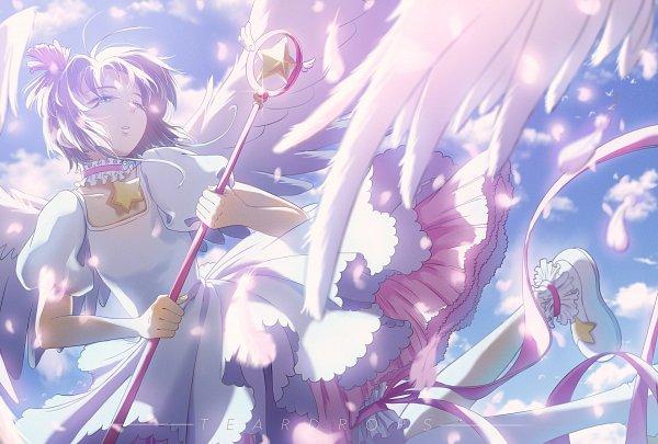 Tags: Anime, Pixiv Id 27354041, Cardcaptor Sakura, Kinomoto Sakura, Star Wand, Sealing Wand (Star Form), Pixiv, Fanart, Fanart From Pixiv
