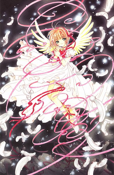 Tags: Anime, CLAMP, Cardcaptor Sakura, Cardcaptor Sakura Movie 2: Fuuin Sareta Card, Cardcaptor Sakura Illustrations Collection 3, Kinomoto Sakura, Mobile Wallpaper, Official Art, Scan