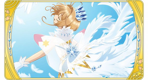 Tags: Anime, Monstar Lab, Cardcaptor Sakura: Clear Card-hen, Cardcaptor Sakura, Cardcaptor Sakura: Happiness Memories, Kinomoto Sakura, Faux Wings, Official Card Illustration, Official Art
