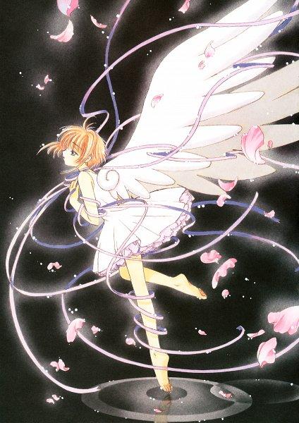 Tags: Anime, CLAMP, Cardcaptor Sakura, Cardcaptor Sakura Illustrations Collection 2, Kinomoto Sakura, Scan, Mobile Wallpaper, Official Art