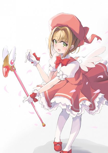 Tags: Anime, Pixiv Id 16136997, Cardcaptor Sakura, Kinomoto Sakura, Sealing Wand (Dormant Form), Fanart, Fanart From Pixiv, Pixiv