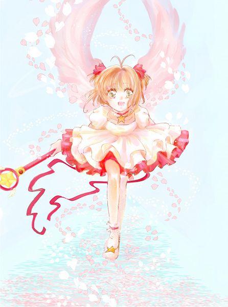 Tags: Anime, Pixiv Id 1885816, Cardcaptor Sakura, Kinomoto Sakura, Star Wand, Sealing Wand (Star Form), Fanart, Fanart From Pixiv, Mobile Wallpaper, Pixiv