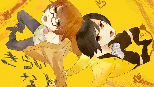 Tags: Anime, Pixiv Id 2936259, 4 Yen, Stuffed Bird, Face Up, Nico Nico Douga, Nico Nico Singer, Kirai na Hito, Pixiv, Wallpaper, People I Hate