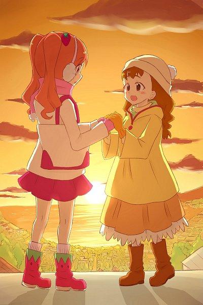 Tags: Anime, Pixiv Id 3565130, Kirakira☆Precure a la Mode, Usami Ichika, Arisugawa Himari, 800x1200 Wallpaper, 2:3 Ratio, Fanart From Pixiv, Pixiv, Wallpaper, Fanart