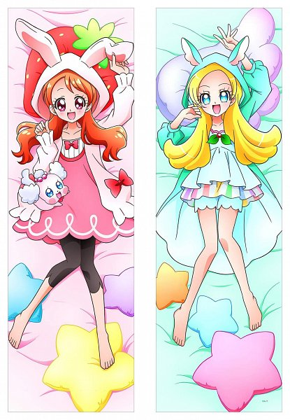 Tags: Anime, Kirakira☆Precure a la Mode, Kirahoshi Ciel, Usami Ichika, Kirarin (Precure)