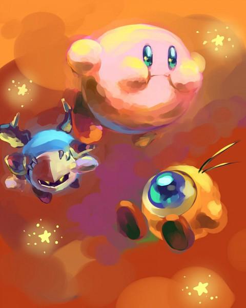 Tags: Anime, Kirby Series, Kirby, Waddle Doo, Meta Knight