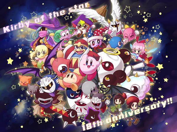 Tags: Anime, Konnya, Kirby Series, Meta Knight, Dark Metaknight, Zero Two, Galacta Knight, Ribbon (Kirby), Waddle Doo, Kirby, Waddle Dee, Dark Kirby, King Dedede