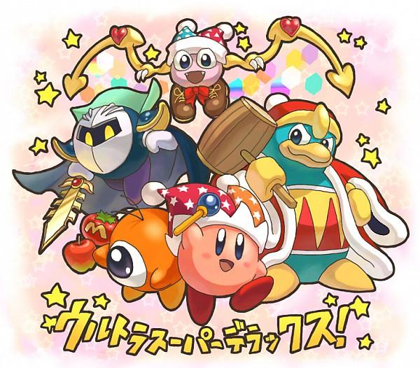 Tags: Anime, Pixiv Id 192969, Kirby Series, Marx, Waddle Doo, Kirby, King Dedede, Meta Knight, King, Pink Skin, Fanart From Pixiv, Fanart, Pixiv
