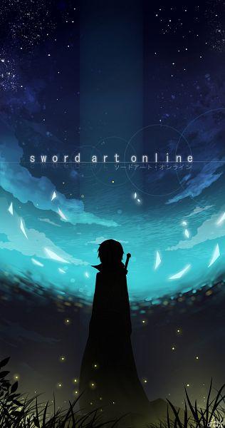 Tags: Anime, Pixiv Id 4089627, Sword Art Online, Kirigaya Kazuto, Fireflies, Fanart, Fanart From Pixiv, Pixiv
