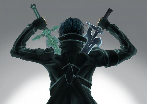 Tags: Anime, Pixiv Id 5919125, Sword Art Online, Kirigaya Kazuto, Fanart, Artist Request
