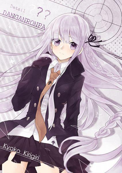 Tags: Anime, Pixiv Id 2648680, Danganronpa, Kirigiri Kyouko, Pixiv, Fanart, Fanart From Pixiv