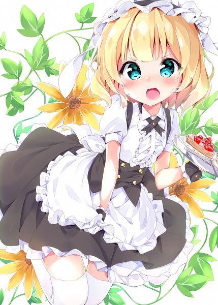 Tags: Anime, Pixiv Id 5991282, Gochuumon wa Usagi Desu ka, Kirima Sharo, PNG Conversion, Mobile Wallpaper