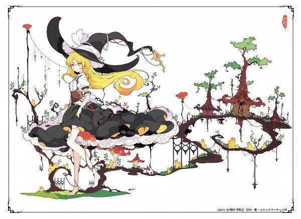 Tags: Anime, Ideolo, NEKO WORKi, Touhou, Kirisame Marisa, PNG Conversion, Marisa Kirisame