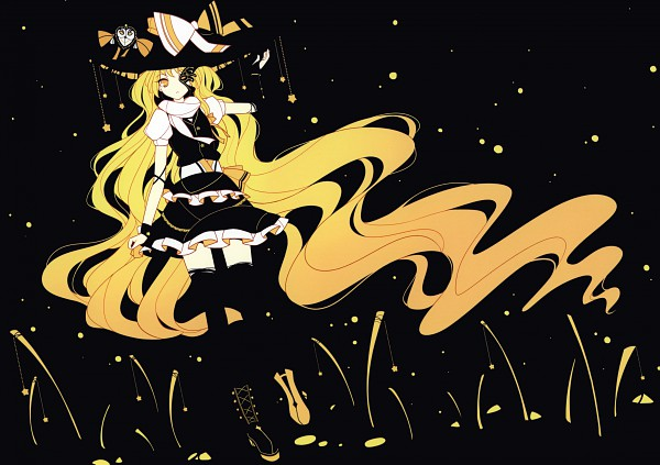 Tags: Anime, Ideolo, NEKO WORKi, IRO GAME, 2011-2012 Touhou Project Calendar, Touhou, Kirisame Marisa, Hanging Star, Calendar (Source), Reitaisai 8, Pixiv, Fanart From Pixiv, Fanart, Marisa Kirisame