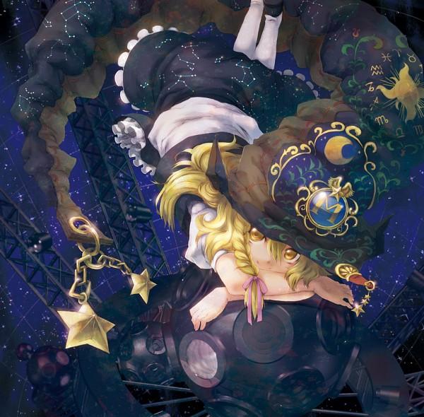 Tags: Anime, 9ji, Touhou, Kirisame Marisa, Planetarian, Marisa Kirisame