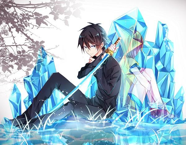 Tags: Anime, Pixiv Id 1212091, Kirisame ga Furu Mori, Kanzaki Shiori, Suga Kotaro, Pixiv, Forest Of Drizzling Rain