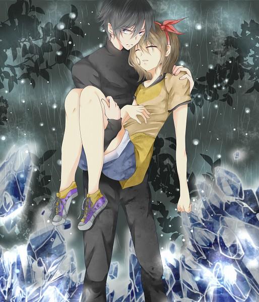 Tags: Anime, Pixiv Id 4463613, Kirisame ga Furu Mori, Kanzaki Shiori, Suga Kotaro, Fanart From Pixiv, Pixiv, Fanart, Forest Of Drizzling Rain