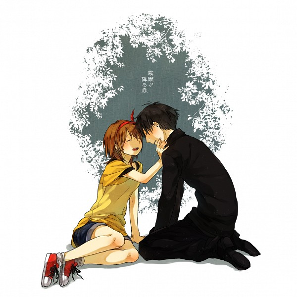 Tags: Anime, Pixiv Id 4865214, Kirisame ga Furu Mori, Kanzaki Shiori, Suga Kotaro, Fanart From Pixiv, Pixiv, Fanart, Forest Of Drizzling Rain