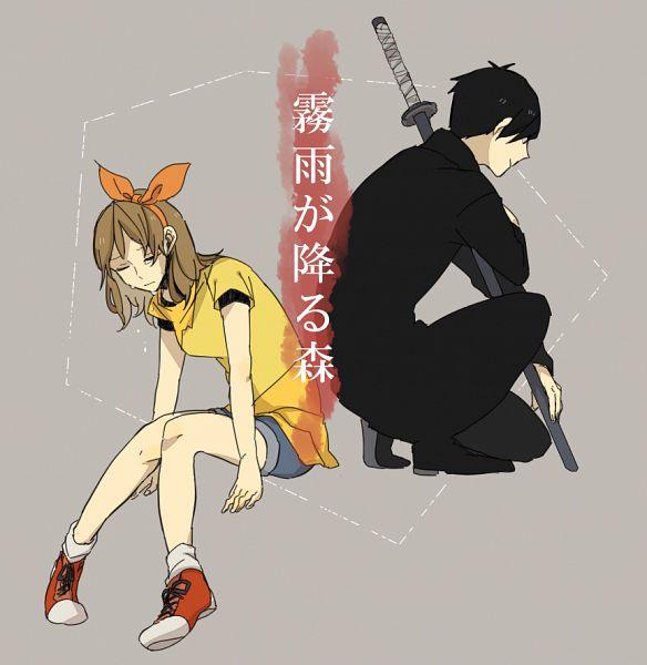 Tags: Anime, Pixiv Id 973544, Kirisame ga Furu Mori, Kanzaki Shiori, Suga Kotaro, Pixiv, Fanart, Fanart From Pixiv, Forest Of Drizzling Rain