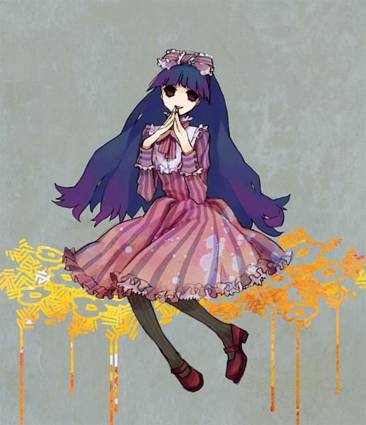 Tags: Anime, Shiki, Kirishiki Sunako, Vertical-striped Dress