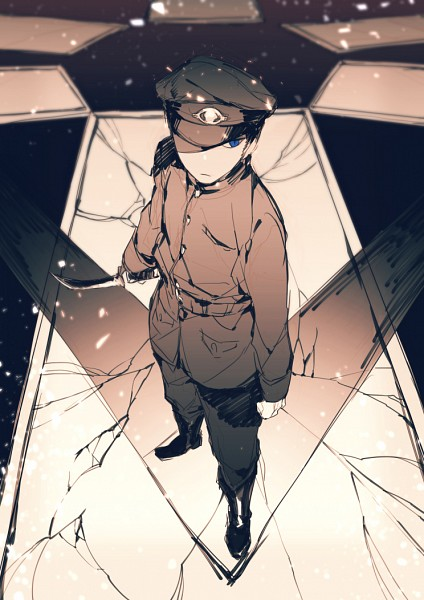 Tags: Anime, Pixiv Id 3323811, Gokuto Jihen, Kirishima (Gokuto Jihen), Pixiv, Fanart, Fanart From Pixiv, Mobile Wallpaper