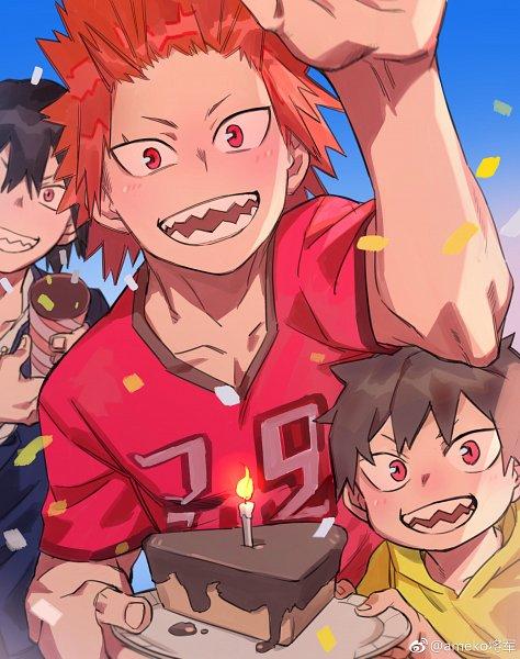 Tags: Anime, ameko (gyican), Boku no Hero Academia, Kirishima Eijirou