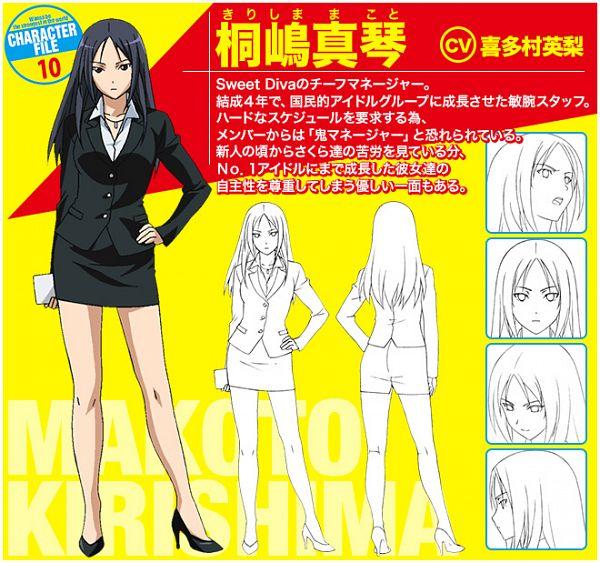 Kirishima Makoto - Sekai de Ichiban Tsuyoku Naritai!