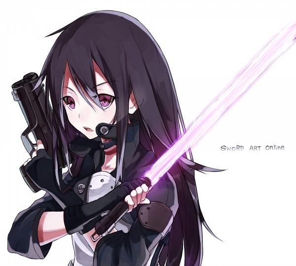 Tags: Anime, Kame^^, Sword Art Online, Kirigaya Kazuto, Kirito (GGO), Fanart, Pixiv