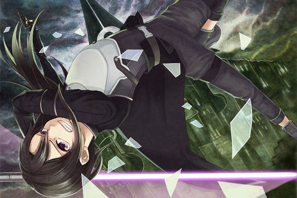 Tags: Anime, Pixiv Id 9803245, Sword Art Online, Kirito (GGO), Kirigaya Kazuto