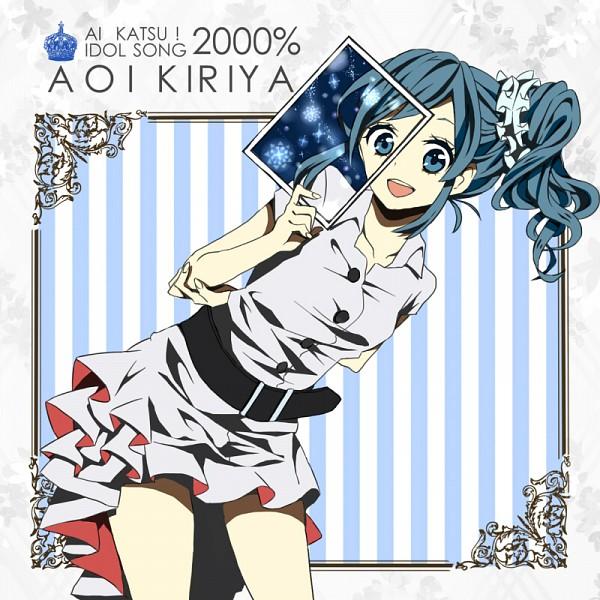 Tags: Anime, Pixiv Id 2790363, Aikatsu!, Kiriya Aoi, Uta No☆Prince-sama♪ (Parody), Fanart From Pixiv, Pixiv, CD (Source), Fanart