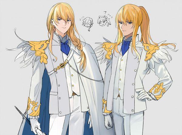 Tags: Anime, Aki (Pixiv560597), Fate/Grand Order, Marisbury Animusphere, Kirschtaria Wodime, Romani Akiman, Fanart, Fanart From Pixiv, Pixiv