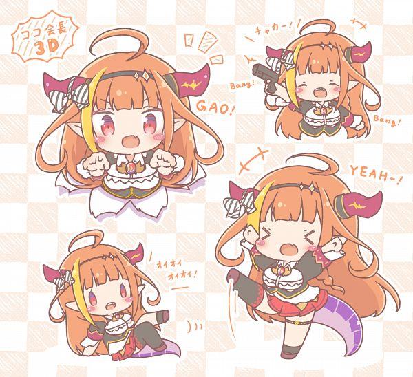 Tags: Anime, Pixiv Id 23928730, Hololive, Coco Ch., Kiryu Coco