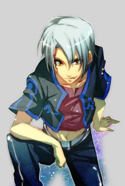 Tags: Anime, Yomo, Yu-Gi-Oh!, Yu-Gi-Oh! 5D's, Kiryu Kyousuke, Dark Signer Uniform, Fanart, Pixiv, Mobile Wallpaper, Kalin Kessler