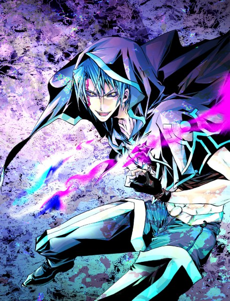 Tags: Anime, Yu-Gi-Oh! 5D's, Yu-Gi-Oh!, Kiryu Kyousuke, Dark Signer Uniform, Kalin Kessler