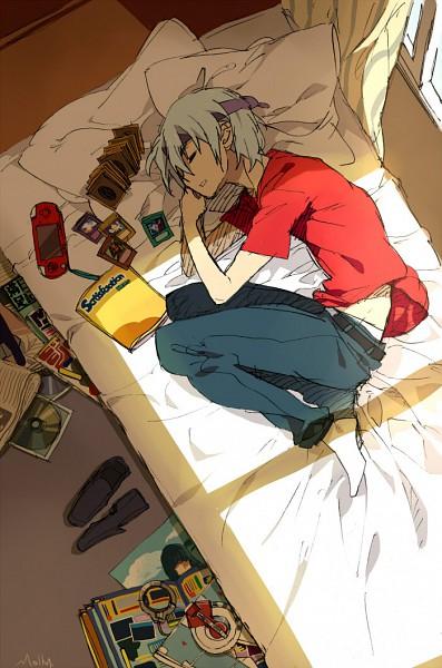 Tags: Anime, Suou, Yu-Gi-Oh! 5D's, Yu-Gi-Oh!, Kiryu Kyousuke, Bedroom, PSP, Mobile Wallpaper, Kalin Kessler