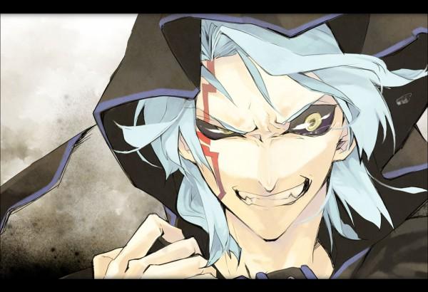 Tags: Anime, Pixiv Id 1027984, Yu-Gi-Oh! 5D's, Yu-Gi-Oh!, Kiryu Kyousuke, Dark Signer Uniform, Pixiv, Fanart From Pixiv, Fanart, Kalin Kessler