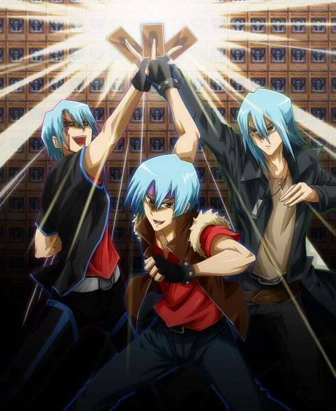 Tags: Anime, Pixiv Id 82604, Yu-Gi-Oh! 5D's, Yu-Gi-Oh!, Kiryu Kyousuke, Dark Signer Uniform, Pixiv, Fanart From Pixiv, Fanart, Kalin Kessler