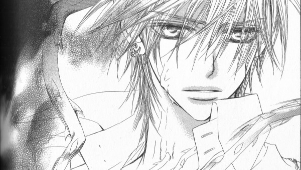 Tags: Anime, Hino Matsuri, Vampire Knight, Kiryuu Zero, Wallpaper, Facebook Cover, Manga Page, Self Scanned, Scan