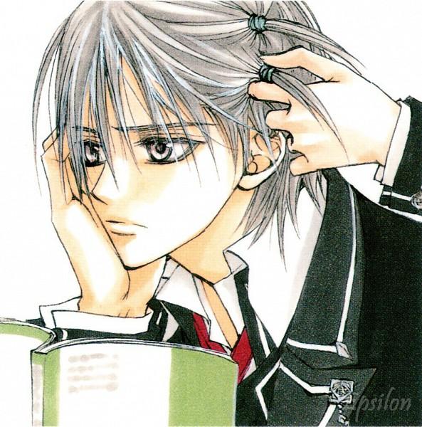 Tags: Anime, Hino Matsuri, Vampire Knight Illustrations, Vampire Knight, Kiryuu Zero, Official Art