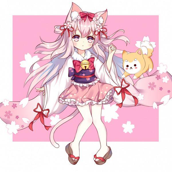 Tags: Anime, Pixiv Id 5927627, Azur Lane, Kisaragi (Azur Lane), Shiba Inu, Happy 2018, New Year's Wish