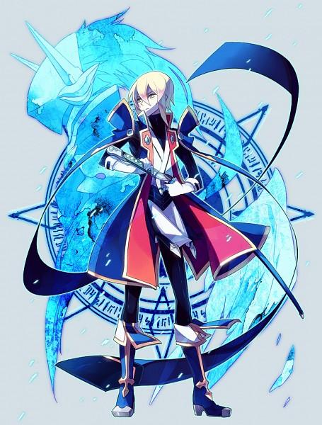 Tags: Anime, Ryolove, BlazBlue, Hakumen, Kisaragi Jin