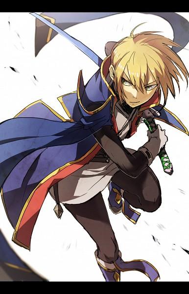 Tags: Anime, Pixiv Id 3336239, Pixiv Id 27482992, BlazBlue, Kisaragi Jin, Mobile Wallpaper