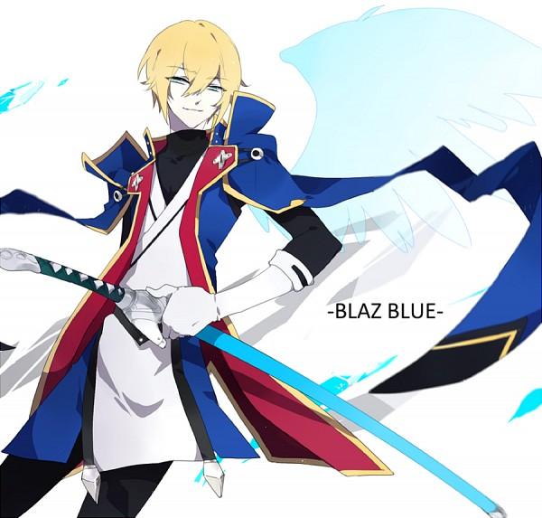 Tags: Anime, Pixiv Id 2699471, BlazBlue, Kisaragi Jin, Pixiv