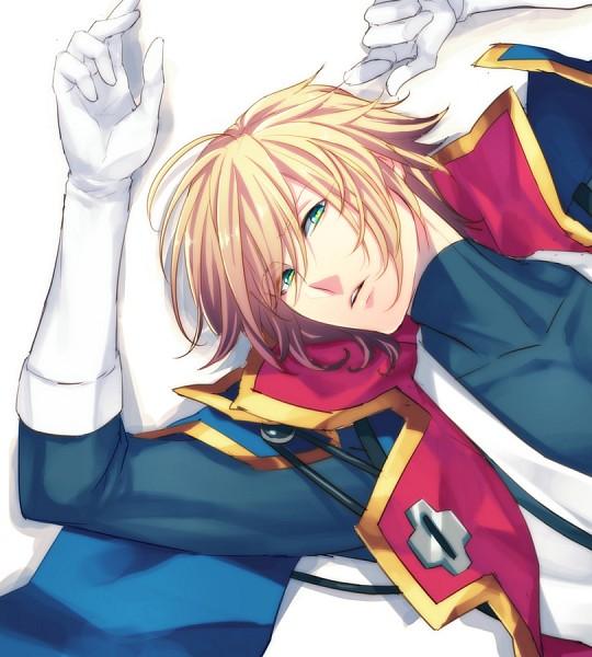 Tags: Anime, Rokuro, BlazBlue, Kisaragi Jin, Pixiv