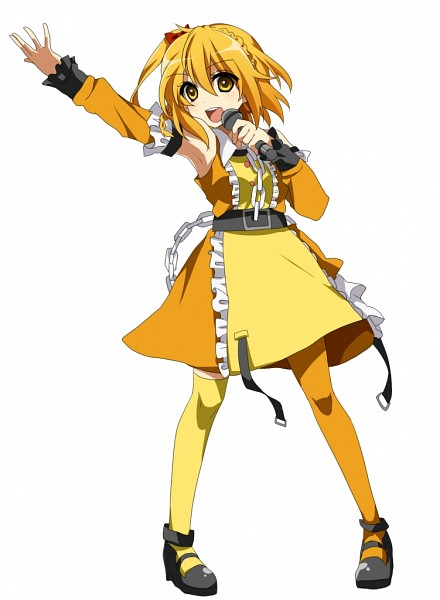 Tags: Anime, Ichinose Yukino, Kagerou Project, Kisaragi Momo, Orange Legwear, Yellow Legwear, Pixiv