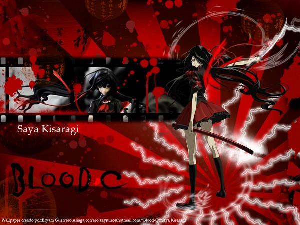 Tags: Anime, Blood-C, Kisaragi Saya, Wallpaper