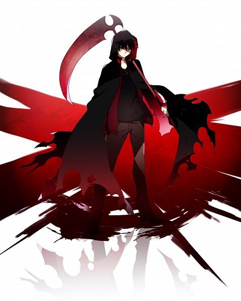 Tags: Anime, Pixiv Id 5874612, Kagerou Project, Grim Reaper, Kisaragi Shintaro, Fanart From Pixiv, Pixiv, Fanart, Shintaro Kisaragi