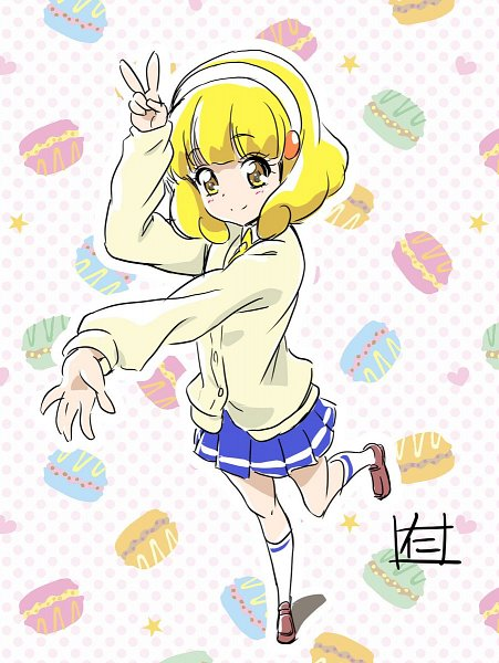 Tags: Anime, Pixiv Id 17089321, Smile Precure!, Kise Yayoi, Fanart, Twitter
